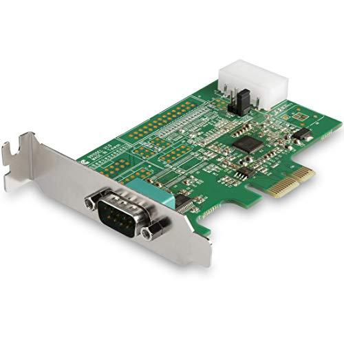 StarTech.com PEX1S953LP 1 Port Serielle Schnittstellenkarte PCIe mit 16950 UART (Serial Adapter, 921,4 Kbps, kompatibel mit Windows und Linux)