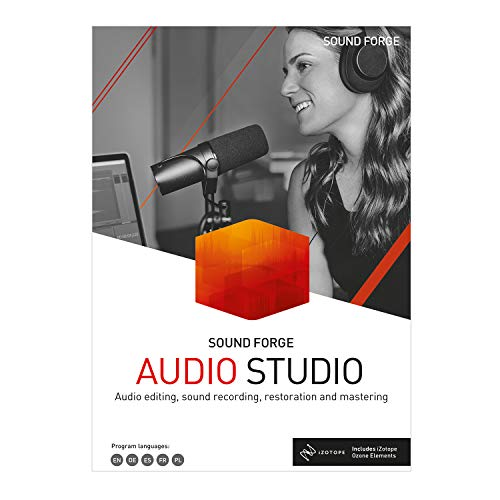 SOUND FORGE Audio Studio – Version 15|Standard|2 Geräte|unlimited|PC|Download|Download