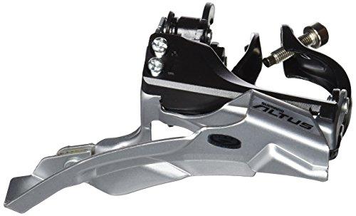 Shimano Altus FD-M370 Umwerfer 3x9-fach Schelle Dual-Pull schwarz Ausführung 66-69° Kettenstrebenwinkel 2016 Mountainbike
