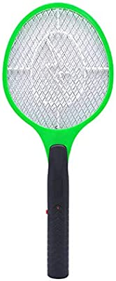 BM GOODS Battery Powered (2xAA) Mosquito, Fly Killer and Bug Zapper Racket - 3,000 Volt - Safe to Touch Mosquito Killer Use Indoor or Outdoor