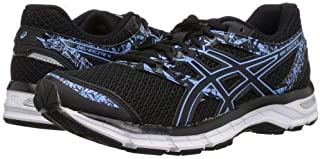 ASICS(アシックス) レディース 女性用 シューズ 靴 スニーカー 運動靴 Gel-Excite(R) 4 - Black/Blue Bell [並行輸入品]