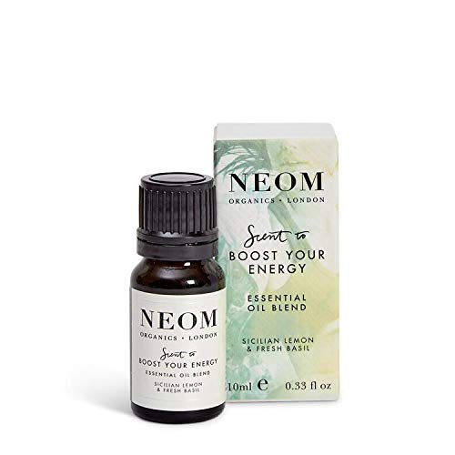 Aroma NEOM para aumentar su energía de mezcla de aceites esenciales, 10 ml
