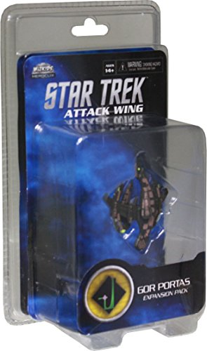 WizKids Star Trek Attack Aile d'extension : Gor Portas - Version Anglaise