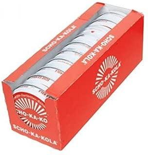 Scho-ka-kola Energy chocolate - DARK - 10 pack