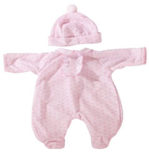 Götz 3402160 Strampler Blümchen - Puppenbekleidung Gr. S - 2-teiliges Bekleidungs- und Zubehörset für Babypuppen von 30 - 33 cm