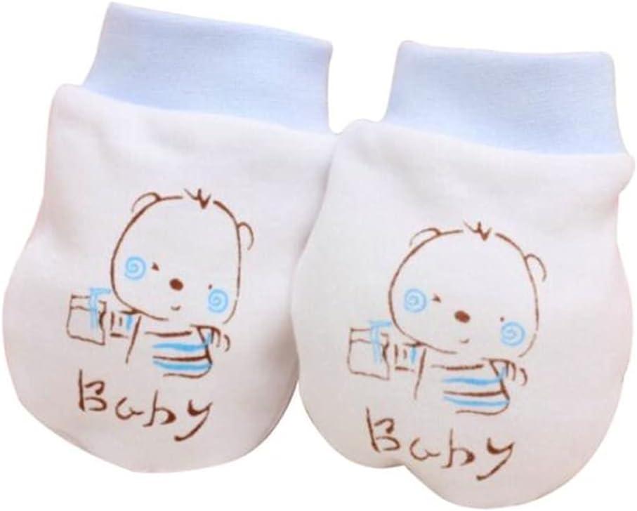 WBDL Winter Baby Gloves 1 Pairs Cute Cartoon Baby Infant Boys Girls Newborn Mittens Fabric Gloves Gift Newborn Baby Gloves