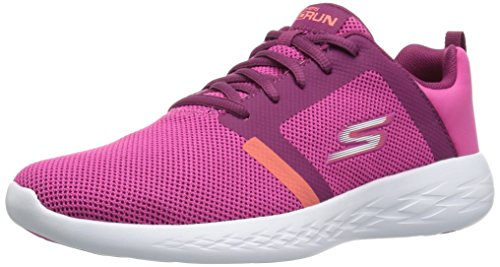Skechers Damen Go Run 600-15069 Turnschuh, Rose, 35.5 EU