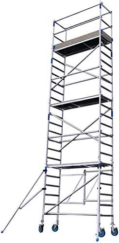 Alumexx FS 75 Typ E - Aluminium - Baugerüst - Klappgerüst - Malergerüst - Arbeitsgerüst - Fahrbar - 8m Arbeitshöhe