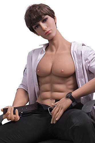 165cm silicona Gay muñecos sexuales masculinos silicona sexo dollsTop calidad realista silicona maniquíes Real amor muñeca para mujeres productos (165cm)