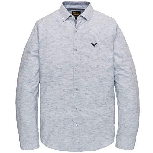 PME Legend shirt met lange mouwen voor heren Yarn Dyed Stripe