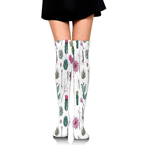 Willbegood99 Vintage Botanical Pattern Arrows Feathers Succulent Twigs Hawaii Spring Tropic Mens Fun Dress Socks Colorful Pattened Novelty Mid-Calf Crew Socks Premium Cotton Vibrant Art Socks