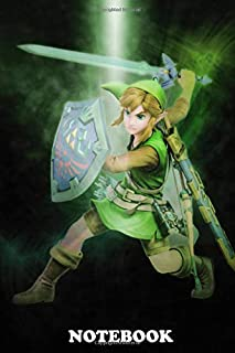 Notebook: First Generation Of Super Smash Bros Link , Journal for Writing, College Ruled Size 6