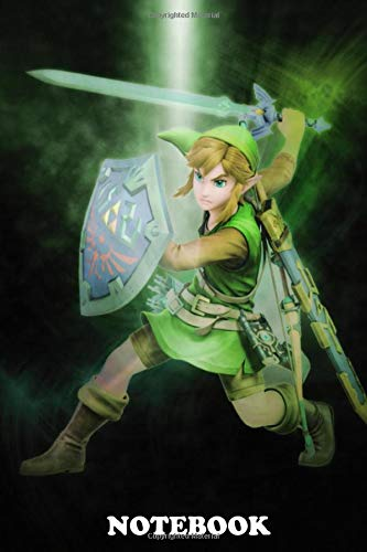 Notebook: First Generation Of Super Smash Bros Link , Journal for Writing,...