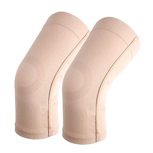 DERCLIVE Kniebandage, Kompressionsmanschette, weich, dehnbar und atmungsaktiv, 23–32 mmHg, Kompressions-Kniebandage für Männer und Frauen, lindert Arthritis, Sehnenscheidenentzündung