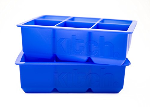 KITCH Large Cube Silicone Ice Tray