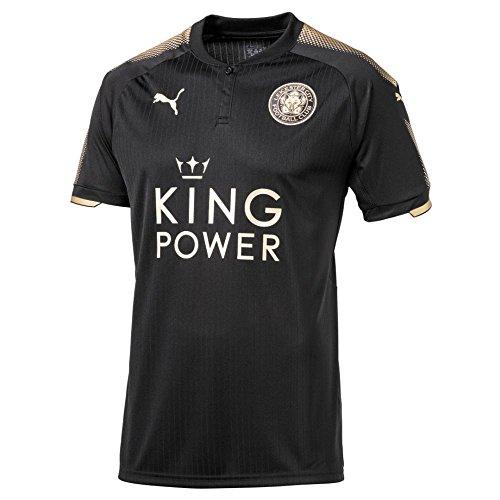 Puma Calcio Leicester City FC England 2017, da trasferta 2018bambini Nero Oro, Donna, Beige, 164