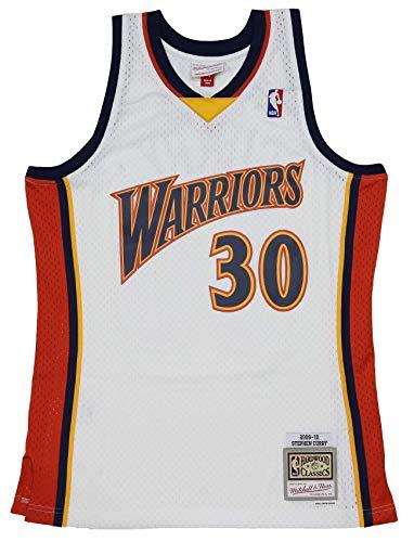 Camiseta Nba Golden State Warriors Stephen Curry 30 (BLANCO), S