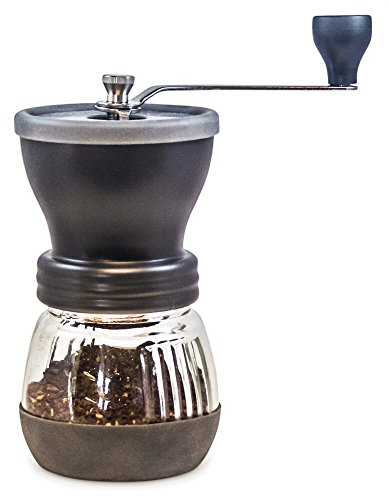 Khaw-Fee HG1B Manual Coffee Grinder with Conical Ceramic Burr - Because Hand Ground Coffee Beans...