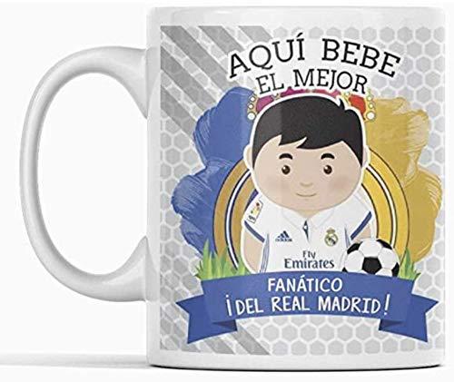 Clapper Taza Fanatico Real Madrid. Taza aqui Bebe