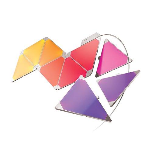 Nanoleaf – Light Panels Smarter Kit - 9* Panneaux lumineux - Fonctionne...