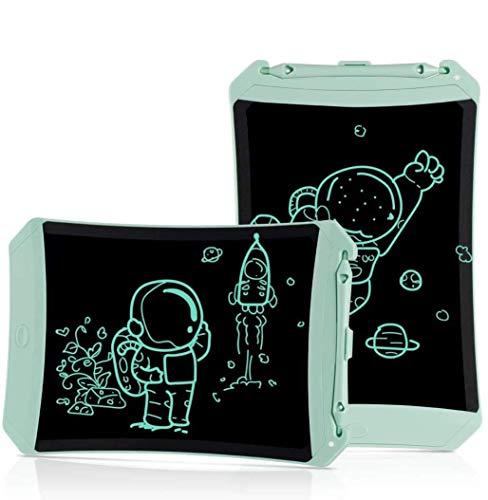 KOKODI Tableta de Escritura LCD,Escritor electrónico Digital Colorido de 8.5 Pulgadas Tableta gráfica Tableta de Dibujo Juguetes para niñas de Regalos de cumpleaños para niños de 3 a 6 años (Verde)