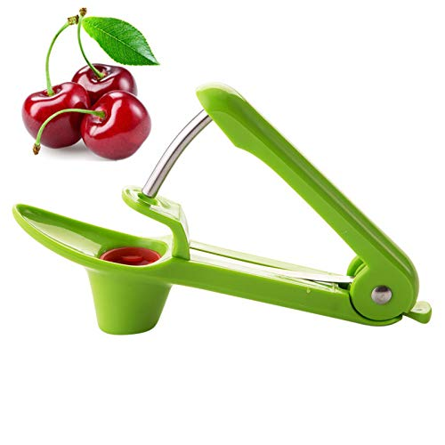 Cherry Pitter, Easy Kitchen Tool Cherry Pitter And Olive Pitter- Green