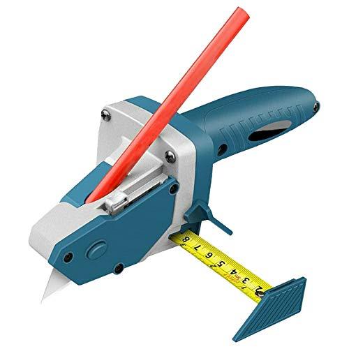 Herramienta de corte de tablero de yeso rápida herramienta de artefacto de corte de paneles de yeso, tabla de cortar herramientas de mano herramienta de corte de carpintería con cinta y lápiz