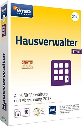 WISO Hausverwalter 2018 Start Software, Modernes Mieter-Management für bis 10 Wohnungen
