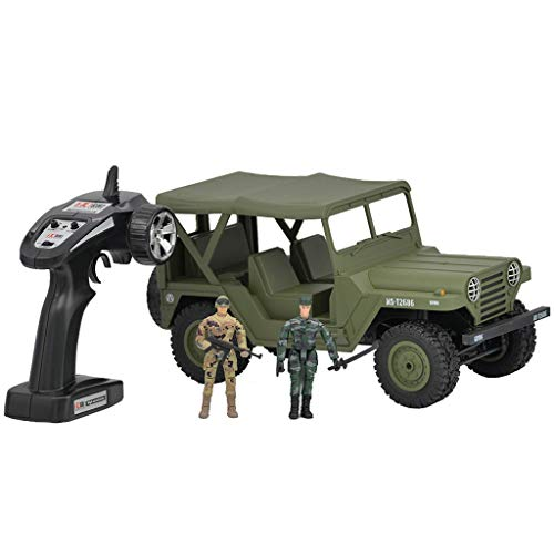 Find Discount RC Off-Road Jeep,Bummyo SUBOTECH BG1522 1/14 2.4G 4WD Crawler RC Car US M151 Jeep Off-...