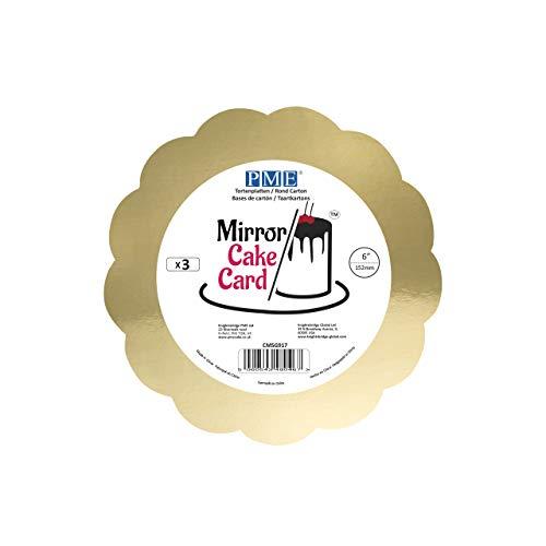Spiegel Cake Card Sjaal Goud