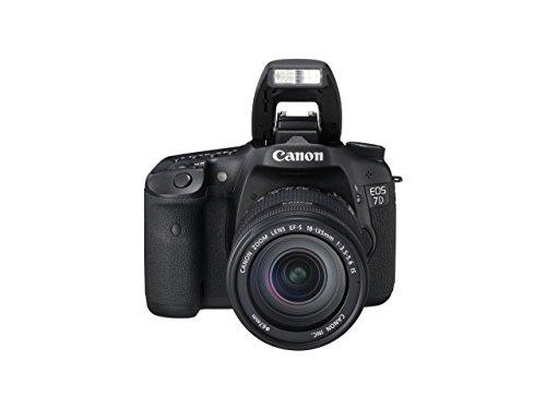 Canon EOS 7D 18,0 MPix DSLR Kit inkl. EF-S 18-135mm 1:3,5-5,6 IS Objektiv Full HD Movie iFCL AE-Metering 8 Bilder/s Dual Digic 4 (Generalüberholt)