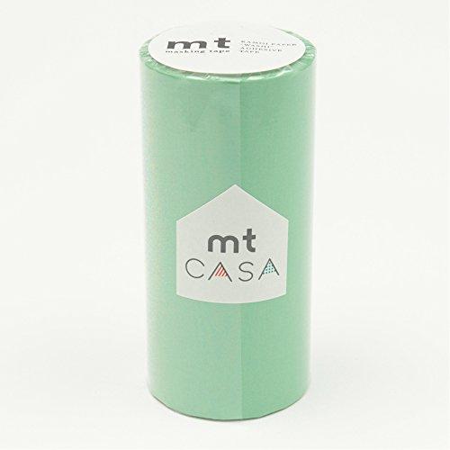 カモ井加工紙 マスキングテープ mt CASA 100mm 100mm幅×10m巻き 若緑 MTCA1050