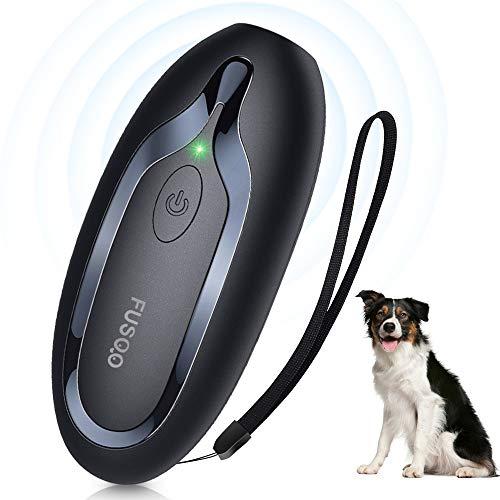 Antibell Halsband Hund, SOYAO Erziehungshalsband Hund mit 16,4 ft Kontrollbereich, Ultraschall Erziehungshalsband Hunde, Anti Bell Halsband für Hunde im Innen- und Außenbereich