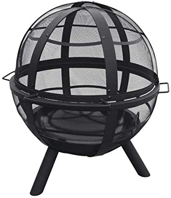 "Backyard Creations 35"" Sphere Steel Fire Pit"