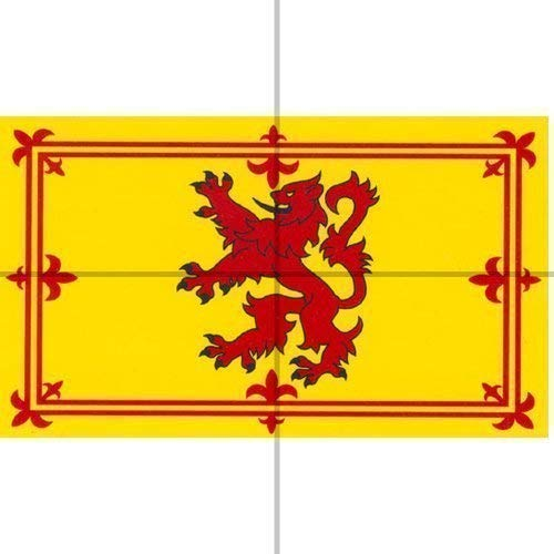 Flag, 5ft x 3ft, Rampant Lion