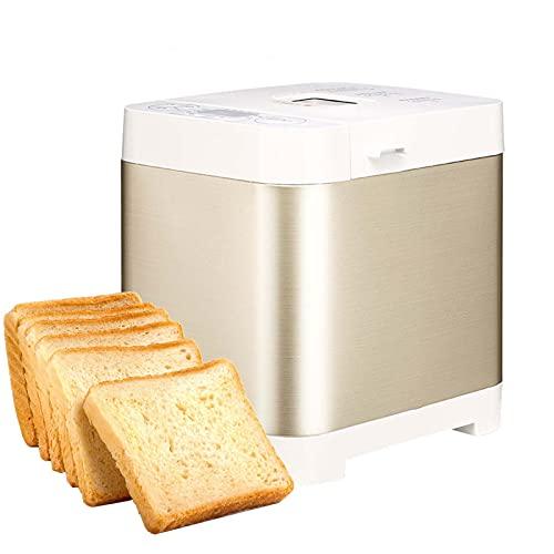 Máquina automática para hacer pan, panificadora rápida inteligente de 450 W, pantalla LCD, tostadora de pan táctil para el hogar, hora de cita, cocina para hornear