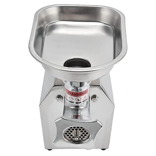 FOLOSAFENAR Máquina para Picar Carne, Anticorrosión Disipa Rápidamente La Máquina para Picar Carne Desmontable del Calor para La Cocina