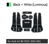Alfombrilla De Goma Antideslizante para Audi A4 B8 2012-2015 8K Sline S-Line S4 Rs4 Accesorios Pegatinas
