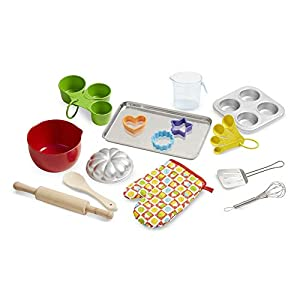 melissa & doug baking play set (20 pieces) - 41 m6vIZSoL - Melissa & Doug Baking Play Set (20 pieces)