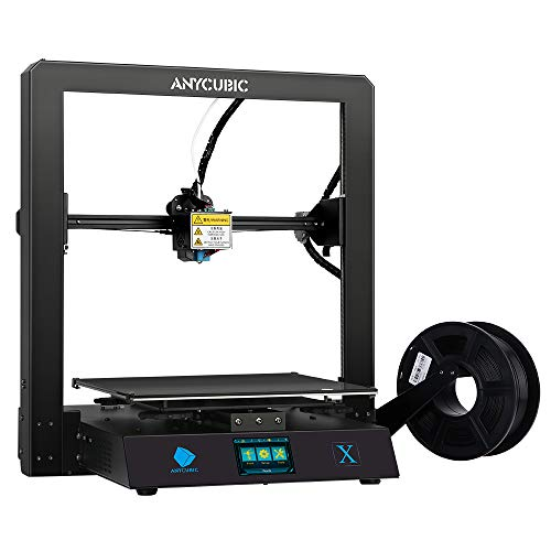 ANYCUBIC 3D Printer MEGA X FDM 3D Printer with Resume Print and Removable UltraBase Hotbed Platform with Free 1kg PLA Filament, Support PLA, ABS, TPU,Build Size 300X300X305mm
