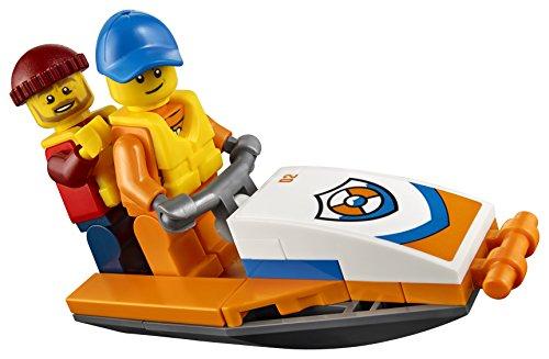 Ensemble de Construction LEGO City - Avion de Sauvetage en Mer de la Garde Côtière, 141 pièces - 6