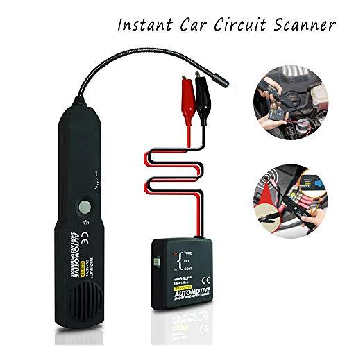 Kfz-Kabeltester, EM415PRO Open Short Circuit Finder Tester Kabel Draht Auto Repair Tool DC 6-42V mit einer Aufbewahrungstasche