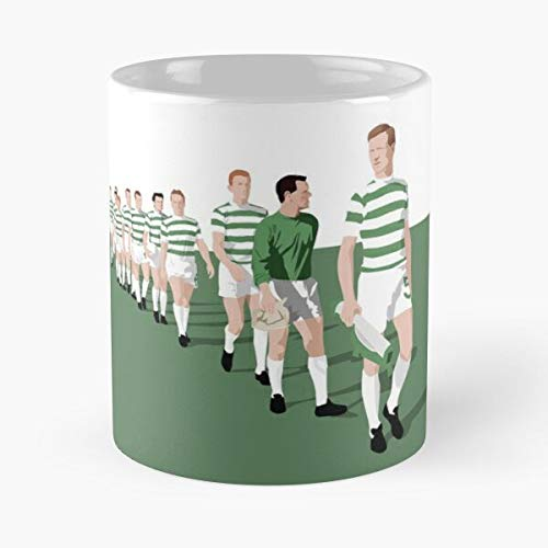 Lions Celtic Lisbon Fc - The best 11oz White marble ceramic coffee mug I Customize