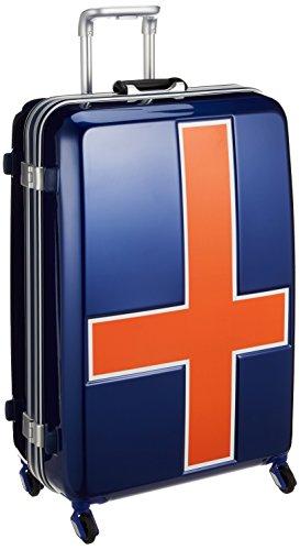 [イノベーター] スーツケース 大型 カードキー 消音キャスター INV68T 保証付 90L 76 cm 4.8kg ブルートリコ