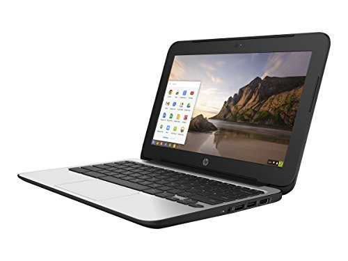HP Chromebook 11 G4 11.6 Inch Laptop (Intel N2840 Dual-Core, 2GB RAM, 16GB Flash SSD, Chrome OS),...