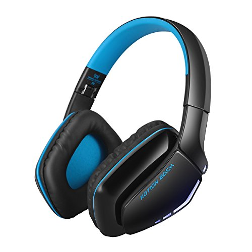 Preisvergleich Produktbild Mecoco Gaming Headset Wireless Bluetooth Stereo Gaming Kopfhörer Faltbar mit Mikrofon für Laptop Tablet