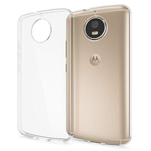 NALIA Handyhülle kompatibel mit Motorola Moto G5S, Ultra-Slim TPU Silikon Hülle Cover Crystal Clear Schutzhülle Dünn Durchsichtig, Backcover Hülle Etui Handy-Tasche Transparent, Smartphone Bumper