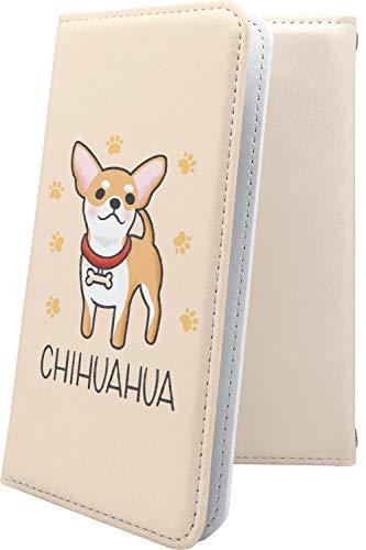 スマートフォンケース・ZenFone5Q ZC600KL・互換 ケース 手帳型 チワワ 動物 動物柄 アニマル どうぶつ ゼンフォン5q ゼンフォン5 手帳型スマートフォンケース・キャラクター キャラ キャラスマートフォンケース・zenfone 5q 5 q 犬 いぬ 犬柄 [F9q30990mLG]