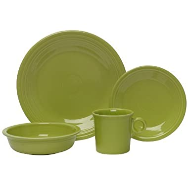 Fiesta 4-Piece Place Setting, Lemongrass