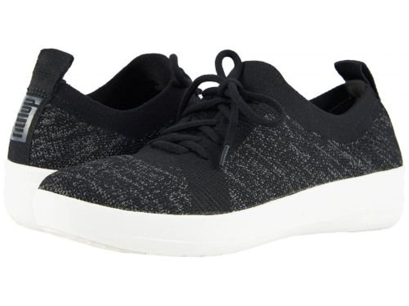 警戒撤回するネイティブFitFlop(フィットフロップ) レディース 女性用 シューズ 靴 スニーカー 運動靴 F-Sporty Uberknit Sneakers - Black 10 M (B) [並行輸入品]